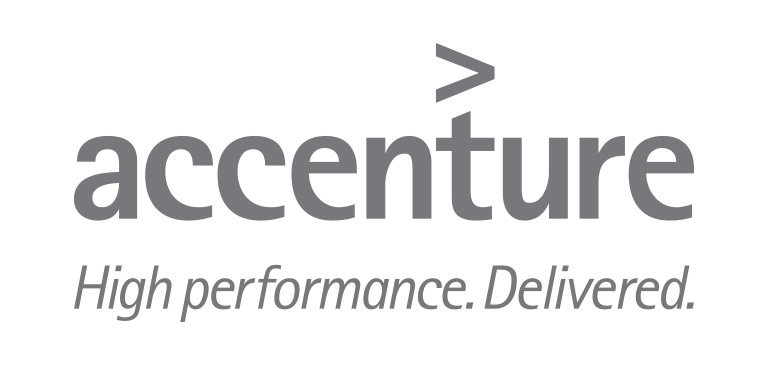 Accenture logo, 'High performance. Delivered.'